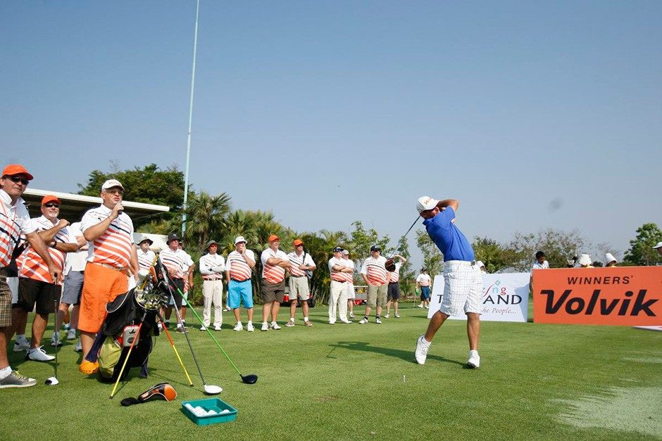 World Long Drive Champion Gives Golf Clinics for Amari Pattaya & Hua Hin Amateur Golf Weeks