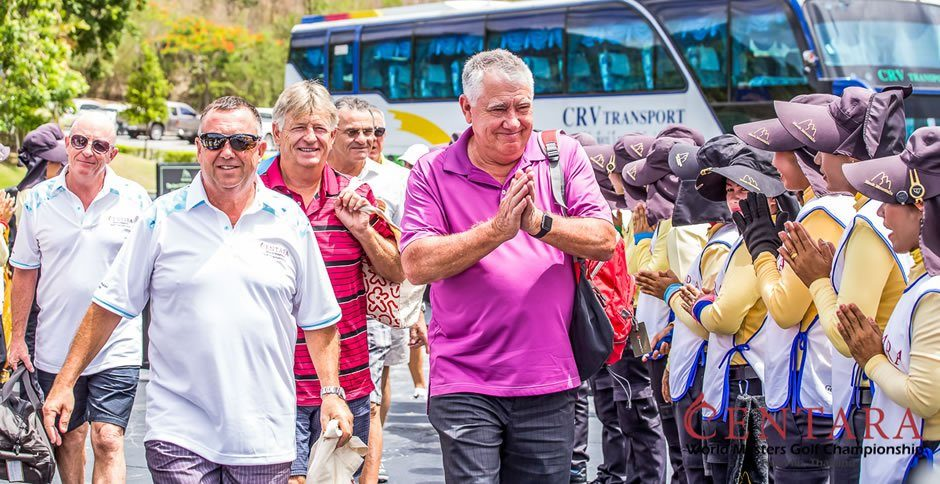 World Golfers Arrive in Thailand for 2017 Centara World Masters Championship