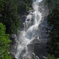 BC's third highest waterfall(336 m)