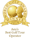 Awards-Asias best golf tour operator 2019