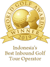 Awards-Indonesias best inbound golf tour operator 2019