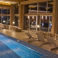 Pool edel resort luxus chiemsee spa wellness hotel